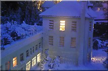 SX9265 : Torquay : Babbacombe Model Village - Building by Lewis Clarke