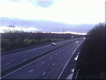 TQ1562 : The A3 from New Road, Claygate by David Howard