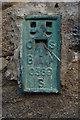 SE1565 : Flush Bracket Bench Mark, Pateley Bridge by Mark Anderson