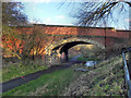 SD7608 : Bridge at Radcliffe Moor Road by David Dixon