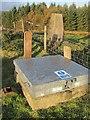 NR9821 : Bennan triangulation pillar by Richard Webb