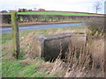 NZ3318 : Culvert for unnamed watercourse under Bishopton Lane by peter robinson