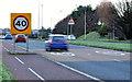 J4880 : Speed limit sign, Bangor (2) by Albert Bridge