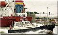 "O1075 : The River Boyne pilot boat ""Warden"" by Albert Bridge"