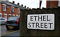 J3272 : Ethel Street sign, Belfast by Rossographer