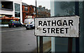 J3271 : Rathgar Street sign, Belfast by Rossographer