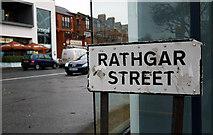 J3271 : Rathgar Street sign, Belfast by Rossographer