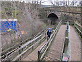 SJ9277 : Middlewood Way access ramp by Stephen Craven