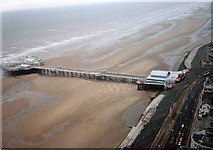 SD3036 : North Pier from Blackpool Tower   c 1993 by Tom Morrison