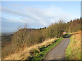 SE5182 : Cleveland Way at Sutton Bank by Pauline E