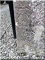 NO1325 : Bench Mark, Scone Old Parish Kirk by Maigheach-gheal