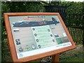 SK8043 : Interpretation Board for the Lancaster W4270 Memorial by di ablewhite