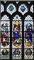 TL7131 : St Mary Magdalene & St Mary the Virgin, Wethersfield - Stained glass window by John Salmon