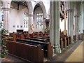 TL6730 : St Mary the Virgin, Great Bardfield - Interior by John Salmon
