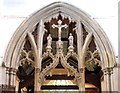 TL6730 : St Mary the Virgin, Great Bardfield - Rood screen by John Salmon