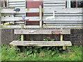 SU0436 : Waterfowl seat by Jonathan Kington