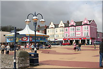 ST1166 : Barry Island seafront March 2008 Amusement Arcades Gavin & Stacey by Eddie Reed