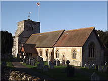 SU8441 : Frensham, St Mary's by Colin Smith