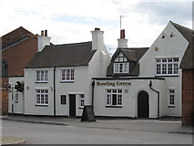 SK3516 : Ashby de la Zouch Bowling Green Pub by the bitterman