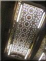SE2933 : Part of ceiling,Tiled Hall, Leeds Central Library by Derek Harper
