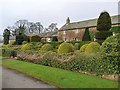 NZ0288 : Topiary at Herterton House Gardens by Oliver Dixon