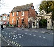 ST8558 : Grade II listed Fernleigh House, Trowbridge by Jaggery