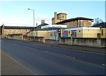 ST8558 : Main entrance to Trowbridge Community Hospital by Jaggery