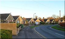 ST8558 : Delamere Road bungalows, Trowbridge by Jaggery