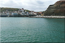 NZ7818 : Staithes Harbour by Graham Horn