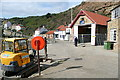 NZ7818 : Staithes lifeboat station by Graham Horn