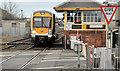 C8532 : Tablet exchange, Coleraine station by Albert Bridge