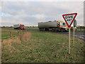 TF6700 : Beet lorries on College Road by Hugh Venables