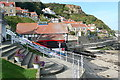 NZ8116 : Inshore rescue boat station at Runswick Bay by Graham Horn