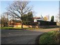 SJ8779 : Wilmslow Road/Mill Lane junction Mottram St Andrew by Peter Turner