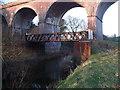 SJ6656 : Old Bridge over the River Weaver by  Moston-Harratt