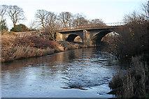 NT1474 : Boathouse Bridge by Anne Burgess