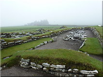 HU3909 : Jarlshof: the Viking settlement by Chris Downer