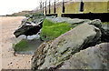 J4281 : Rock armour, Cultra/Craigavad by Albert Bridge
