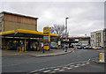 TQ3175 : Petrol station, Brixton by Richard Dorrell