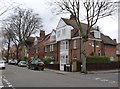 TQ2179 : Houses on Priory Avenue, Bedford Park by Alan Murray-Rust