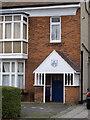 TQ2178 : Porch of 28 Bath Road by Alan Murray-Rust