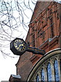TQ2178 : Clock, St Michael and All Angels by Alan Murray-Rust
