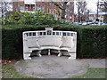 TQ2178 : Bedford Park War Memorial by Alan Murray-Rust