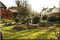 SK9772 : St.Clement's churchyard by Richard Croft