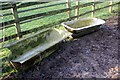 SJ5671 : Cast iron baths on the Delamere Way by Jeff Buck