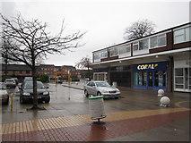 SJ7667 : Holmes Chapel shopping precinct by Peter Turner