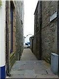 HU4741 : Reform Lane, formerly Tait's Closs, Lerwick - (East) by Rob Farrow