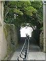 HU4741 : Bank Lane, formerly Swallow Lane, Lerwick (2) by Rob Farrow