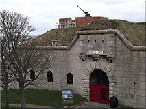 SY6878 : Nothe Fort by Colin Smith