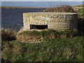 SY6279 : Pill Box Overlooking The Fleet by Colin Smith